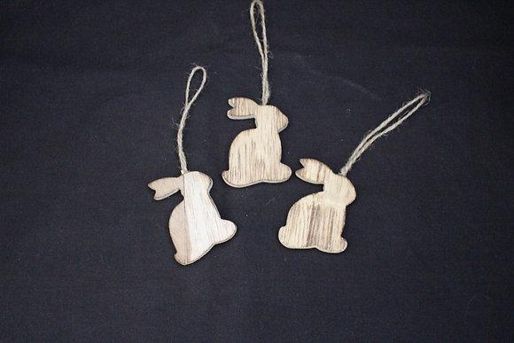 Hase aus Holz