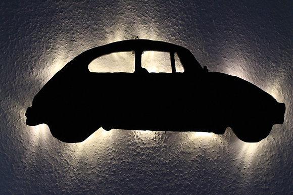 Schattenbild VW Käfer