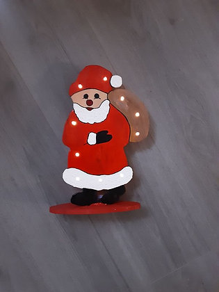 Dekoilcht Weihnachtsmann