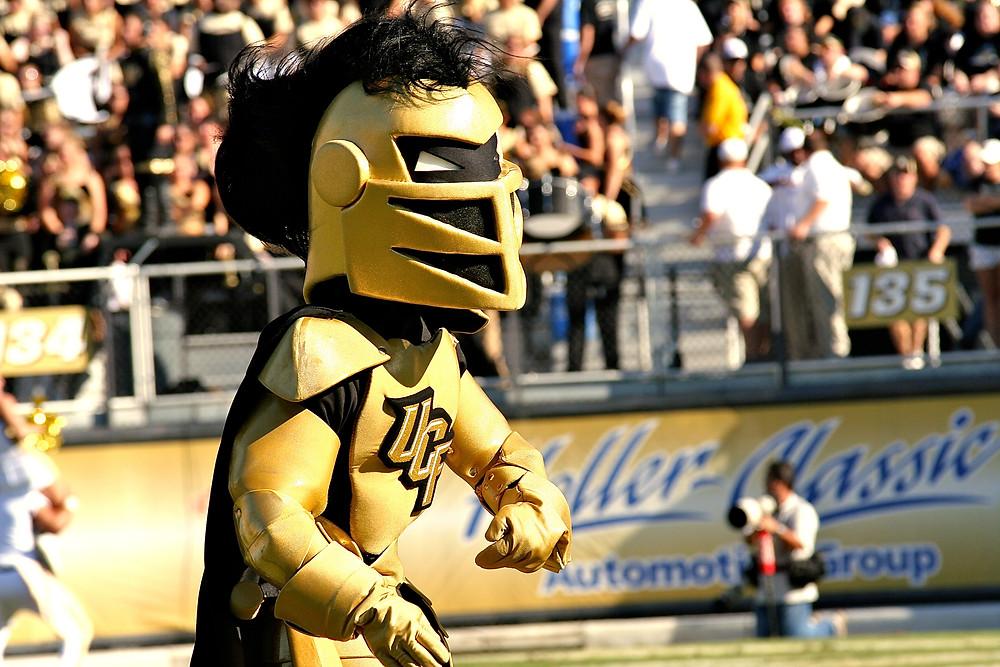 "UCF mascot ""Knightro"""