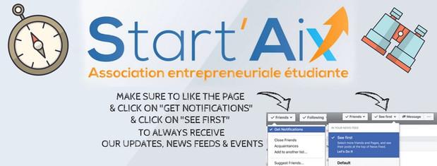 Banner designed for Start'Aix