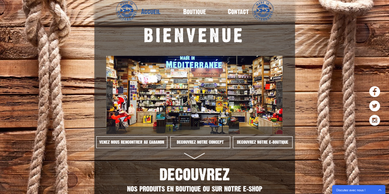 Made In Mediterranée concept store page