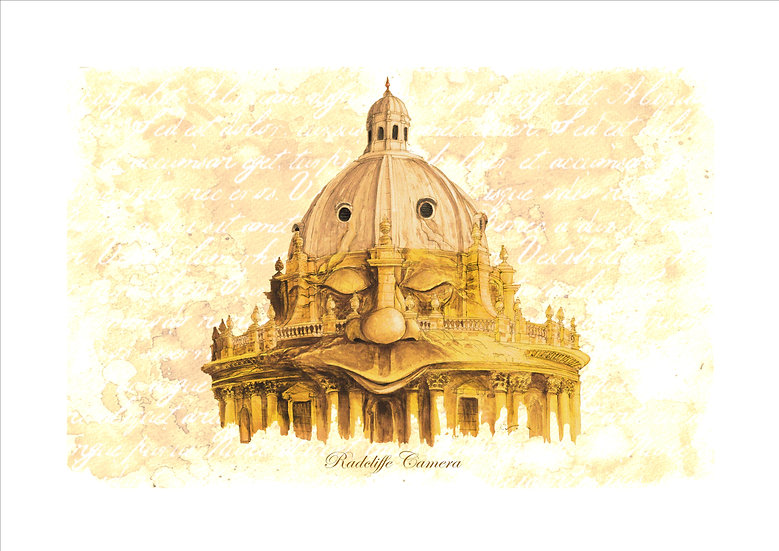 Dreaming Spires: Radcliffe Camera