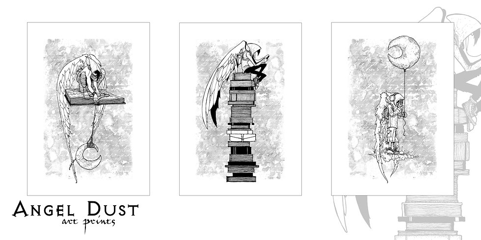 Angel Dust Three Print Set