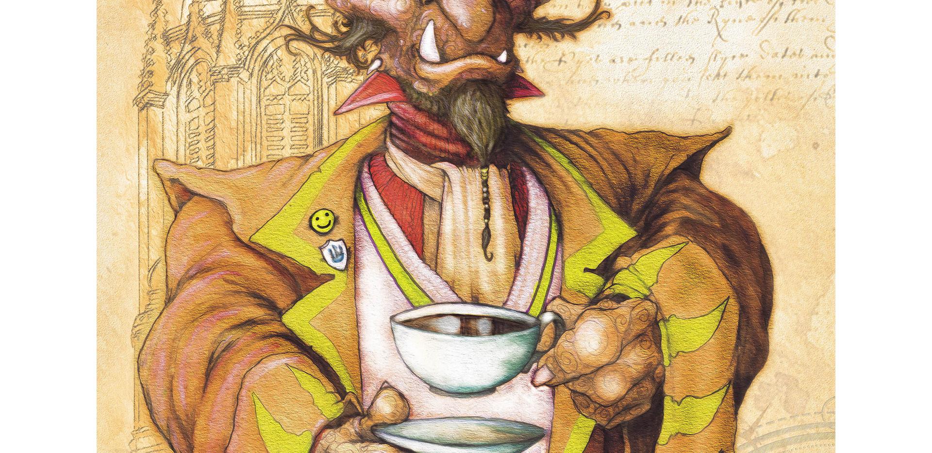 The Oxford Trollomicus: Teatime