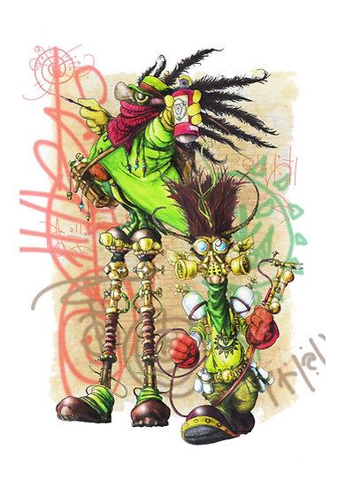 Art Print: The Skrellig Boys