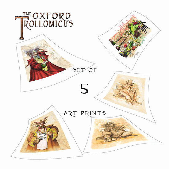 Set of 5 Art Prints