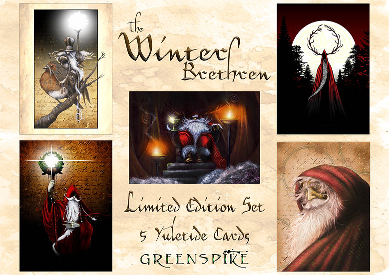 A set of 10 Limited Edition Yuletide Cards
