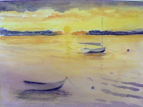 Leslie Altman, Catboat Sunset