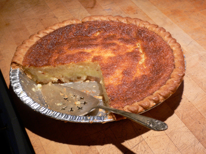 Seven American ways of saying 'a pie'