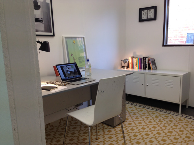 New writing studio