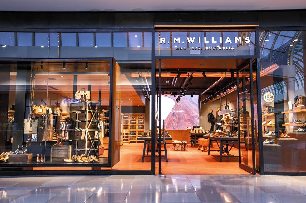 RM Williams LED Display Digital Signage
