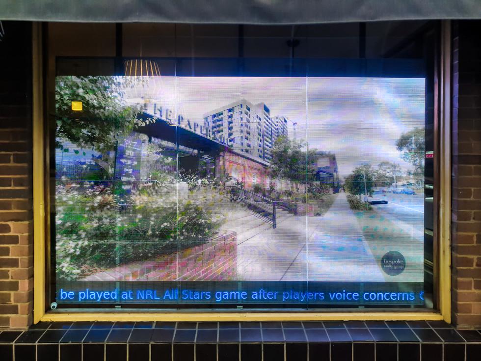 Bespoke Realty Group Transparent LED