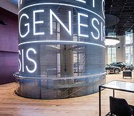 Genesis Transparent LED Display