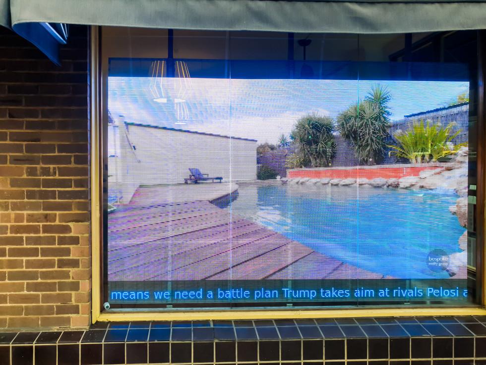 Bespoke Realty Group Transparent LED Display