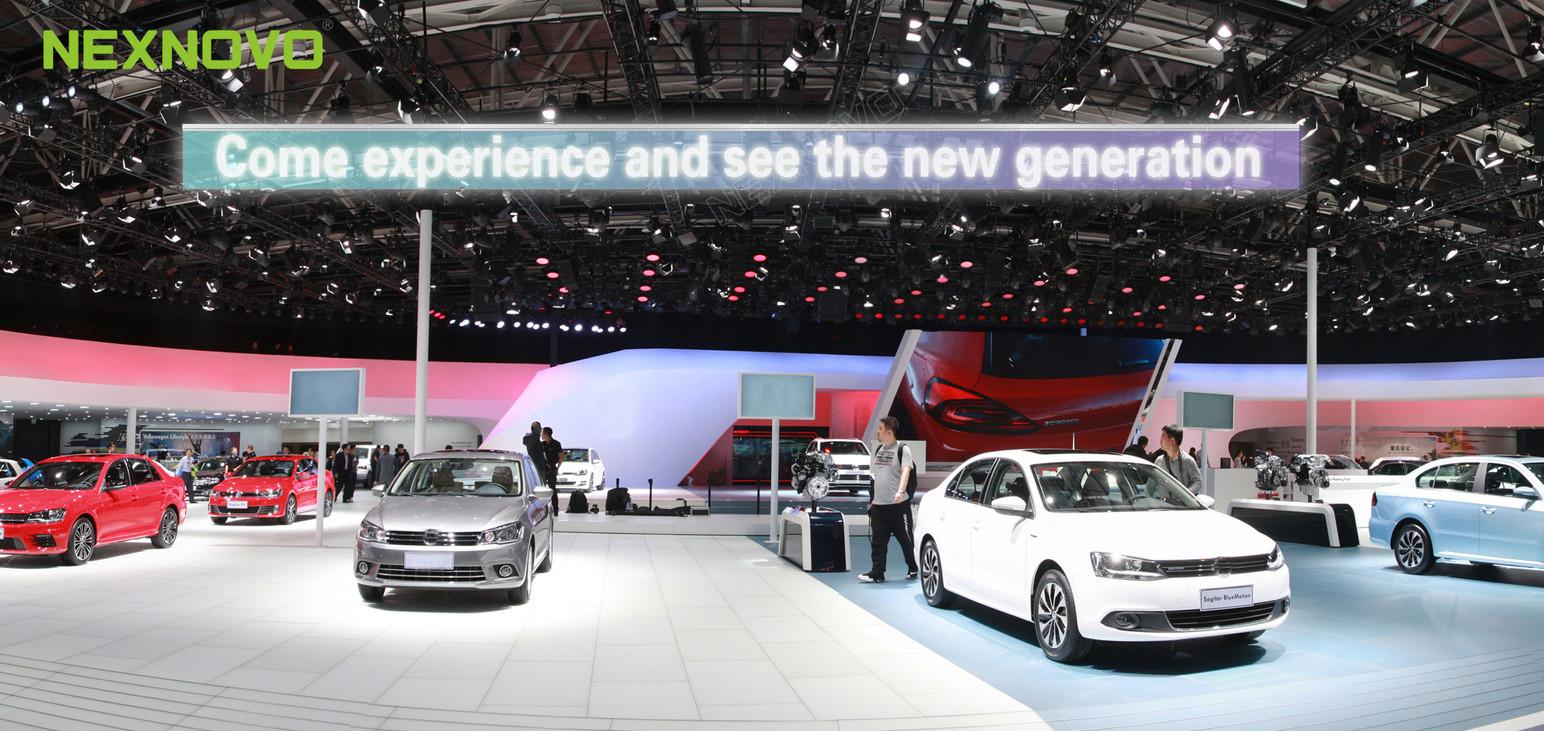NexEsign for car exhibition