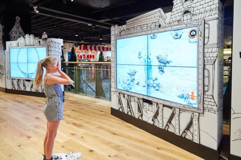 Myer Interactive Video Wall