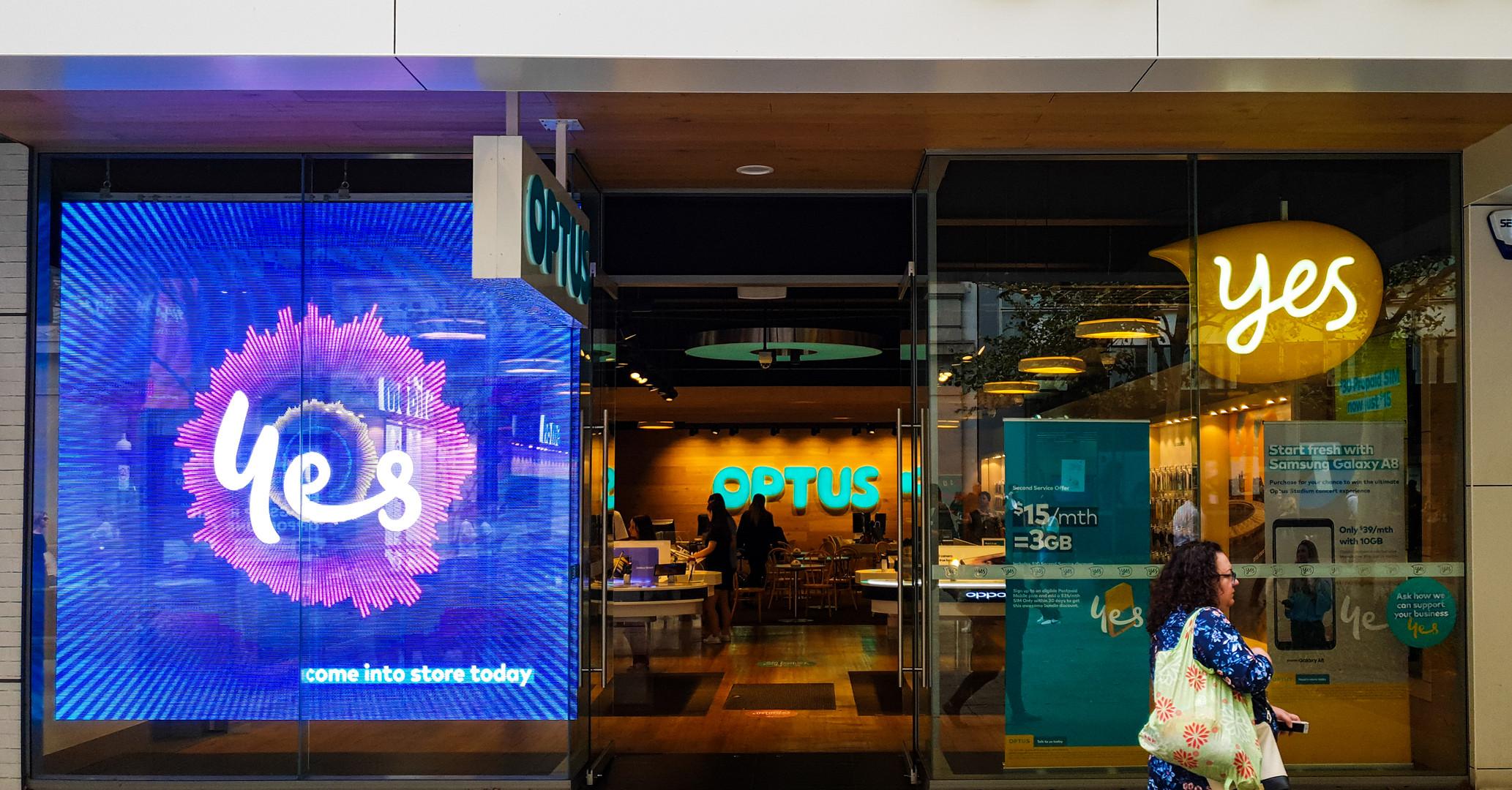Optus Store Perth