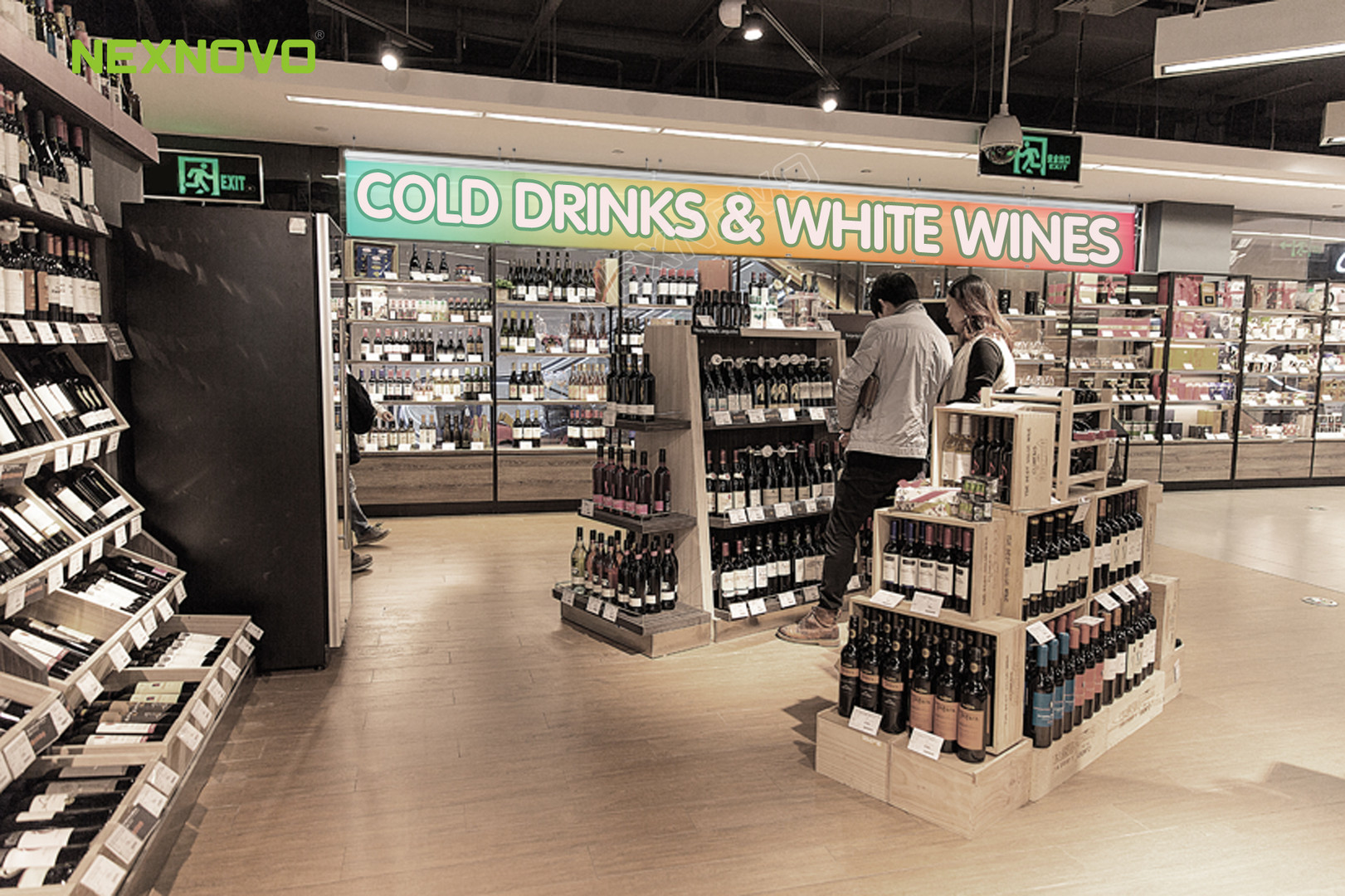 NexEsign for Bottle Shops