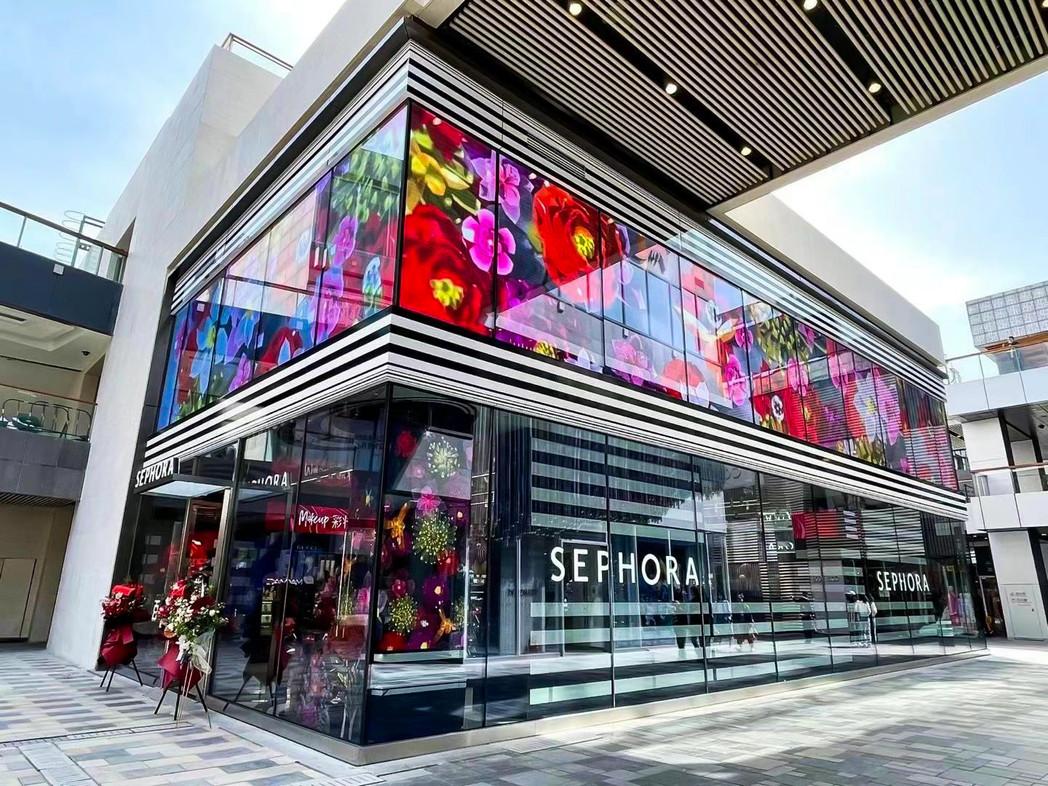 Sephora Beijing Transparent LED