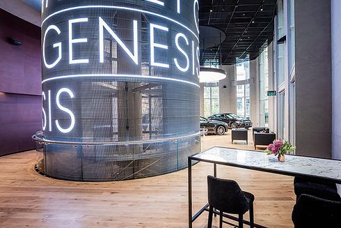 Transparent LED Display for Genesis