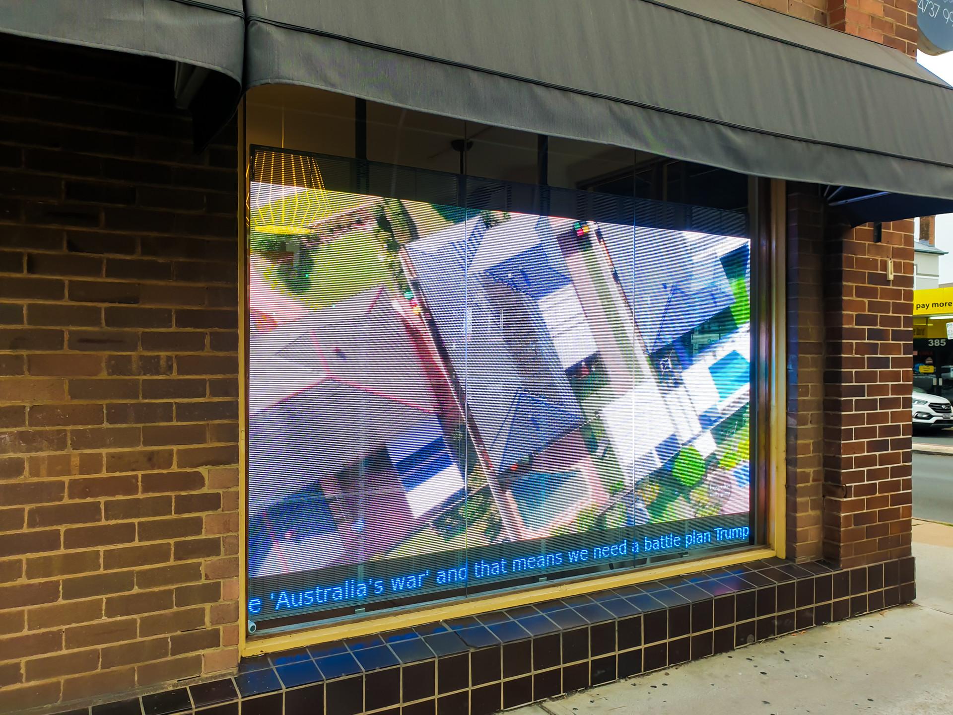 Transparent LED for Bespoke Realty Group