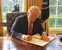 President Trump signed Executive Order