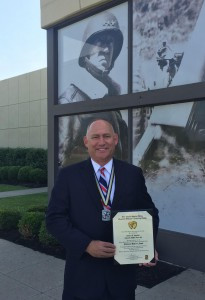 Congratulations to our colleage Bruce Sinkler for being inducted in the the US ROTC Hall of Fame!