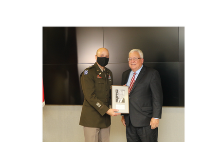 Corps of Engineers salutes Dawson colleague Steve Stockton