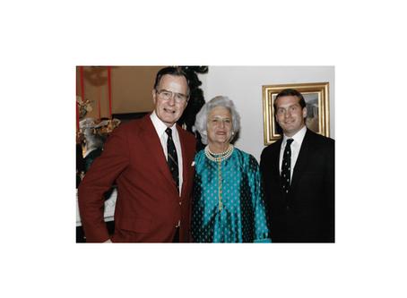 Remembering Barbara Bush's irrepressible wit