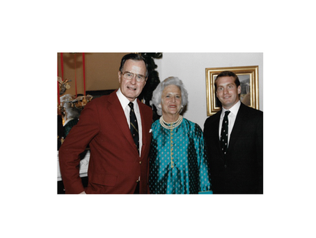 Remembering Barbara Bush's irrepressible wit
