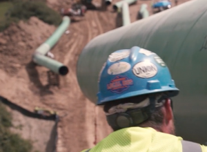 Natural gas pipelines generate jobs and energy security. (Photo courtesy of the Atlantic Coast Pipeline)