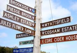 Bickley Valley Signpost