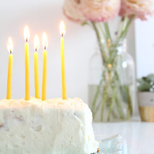 5in Birthday Candle
