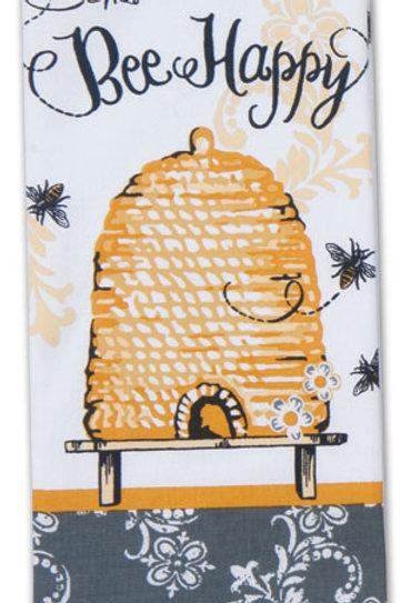 Tea Towel - Bee Happy