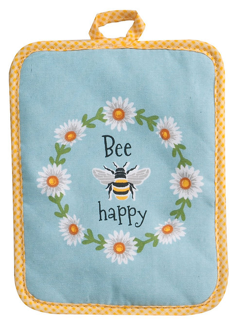 Potholder - Garden Bee Rectangle