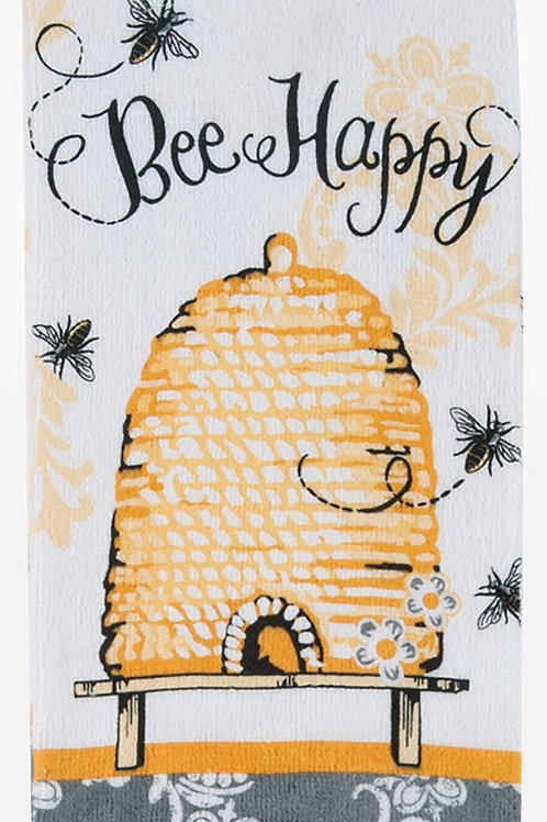 Tea Towel - Kay Dee Designs Bee Happy Terry Cloth
