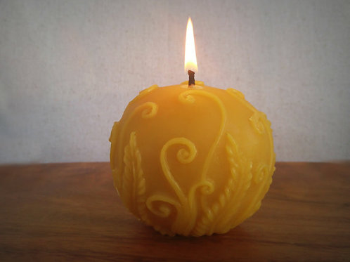 Fern Ball Candle