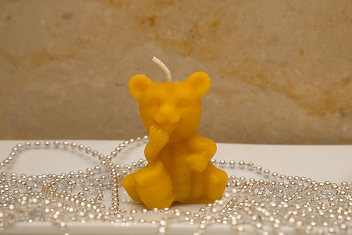 PAIR of Honey Bear Candles