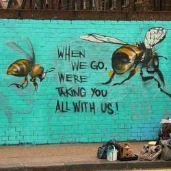 bee wall