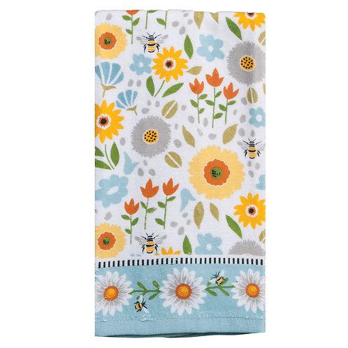 Tea Towel - Terry Cloth Garden Bee