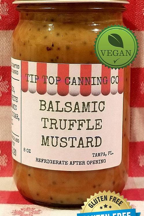 Balsamic Truffle Mustard