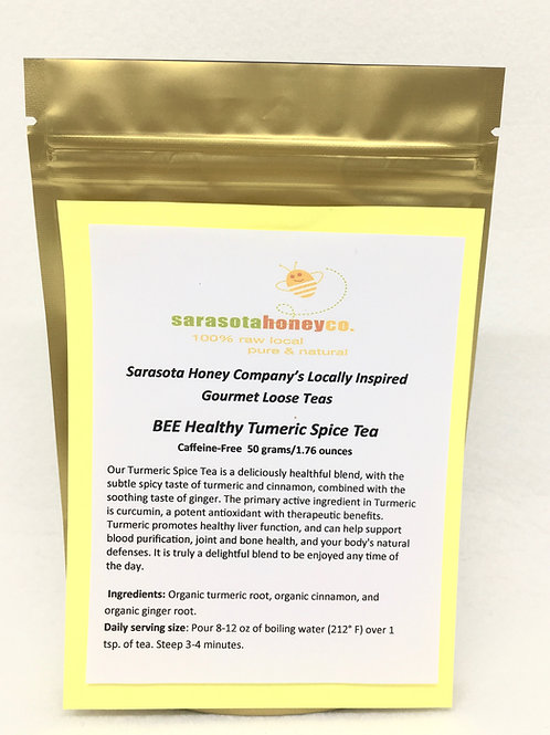 BEE Healthy Tumeric Spice Tea