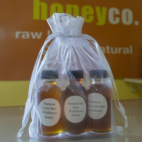 Sampler Honey 3pk
