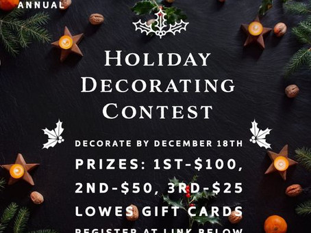 4th Annual Home Decorating Contest
