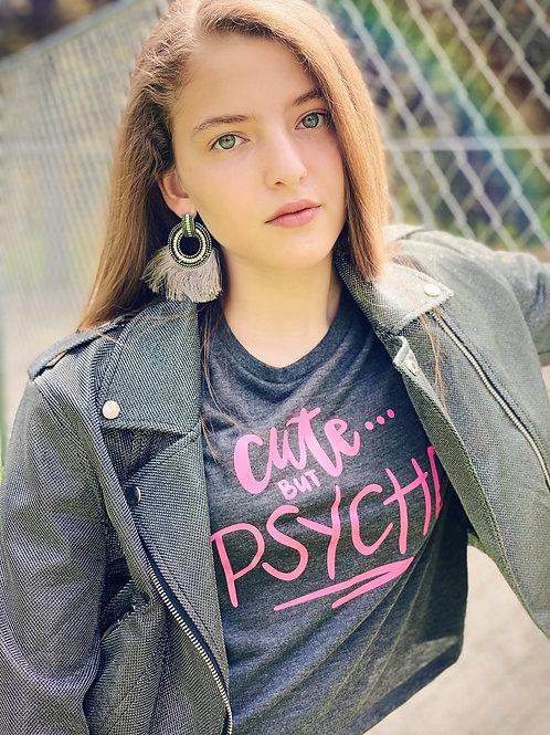 Cute But Psycho Cutoff Top