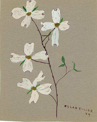 Art - Dogwood branch - 1959.jpg