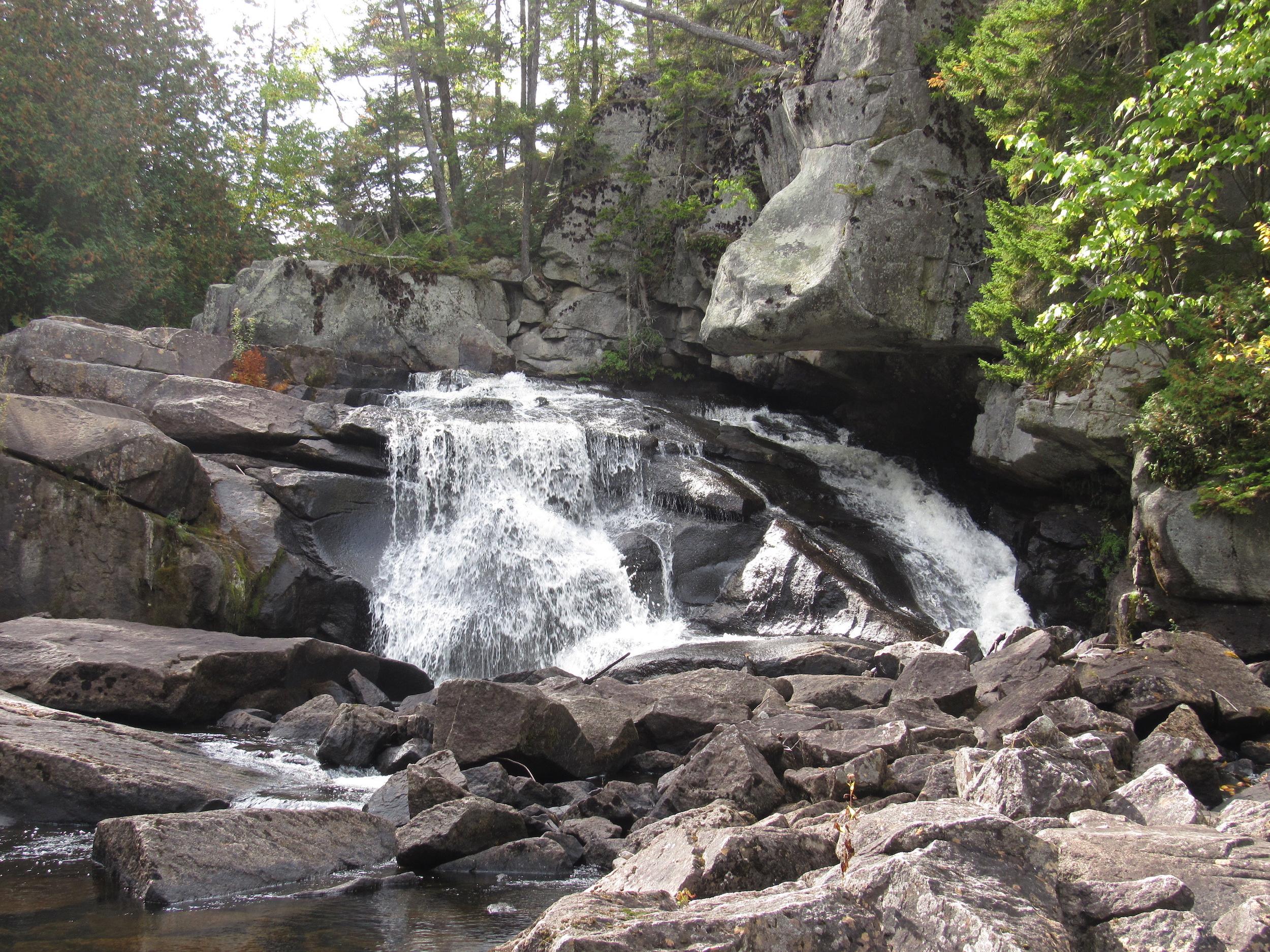 Polywog Gorge, lower falls