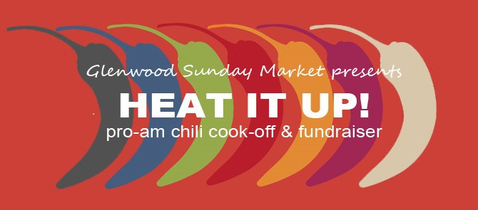 Fund Glenwood Sunday Market's Food Access Programs and join the fun at Heat It Up! Fundraiser &a