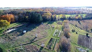 avrom farm aerial view